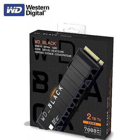 SSD M.2 PCIE 4.0 Geração 4 7000 mb/s 2280 SN850 Western Digital