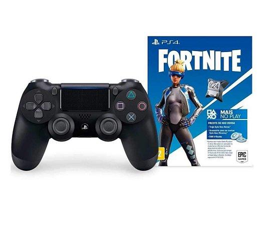 Controle Dualshock 4 PS4 Fortnite Pro Slim Original