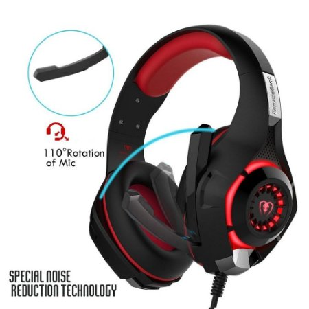 Headset Gaming Portátil 3d Estéreo 3,5 Mm Ps4 Xbox One Pc