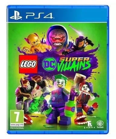 Lego Super Villains DC PS4