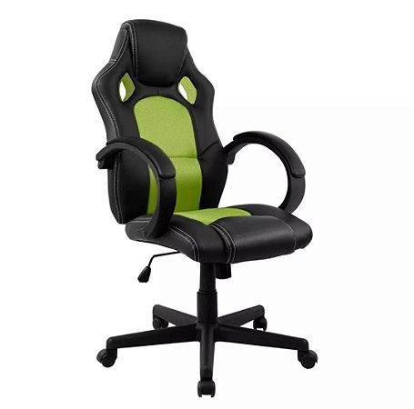 Cadeira Gamer Presidente em Couro PU