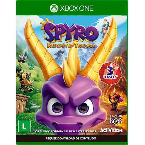Spyro Reignited Trilogy Xbox One Com Chaveiro