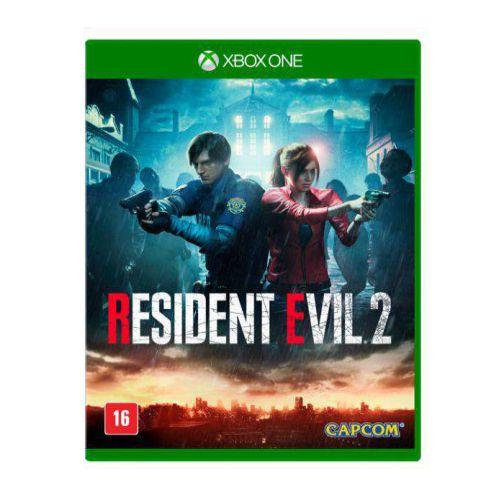 Resident Evil 2 Xbox One Com Chaveiro