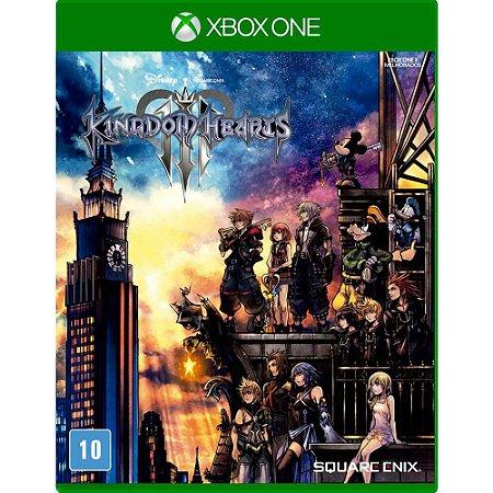 Kingdom Hearts III Xbox One Com Chaveiro