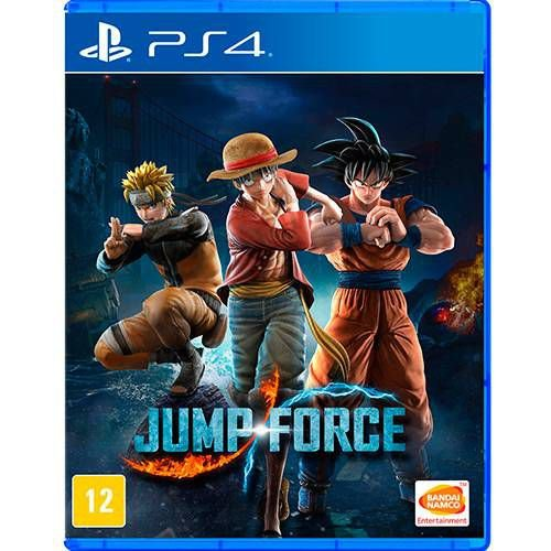 Jump Force PS4 Com Chaveiro