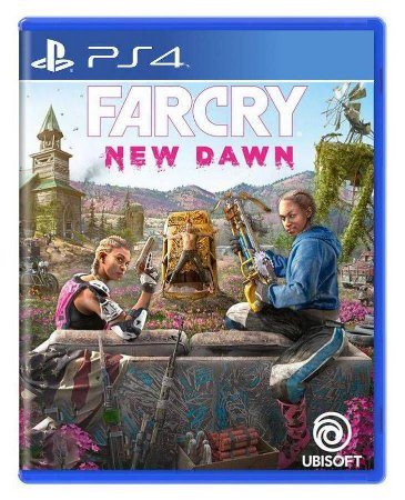 Far Cry New Dawn PS4 Com Chaveiro