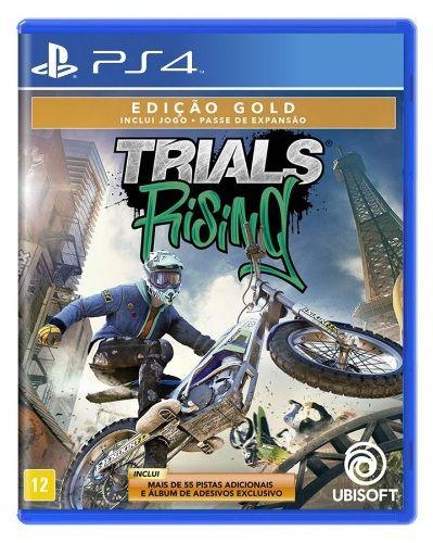 Trials Rising Edição Gold PS4