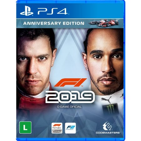 F1 2019 The Official Videogame Anniversary Edition PS4