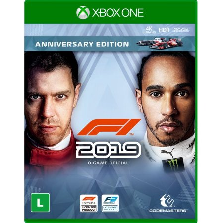 F1 2019 The Official Videogame Anniversary Edition Xbox One