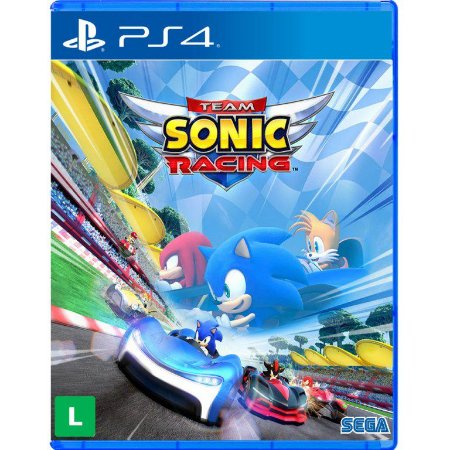 Team Sonic Racing PS4 Com Chaveiro