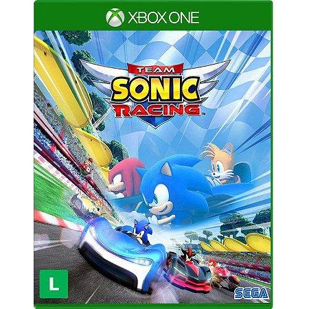 Team Sonic Racing Xbox One Com Chaveiro