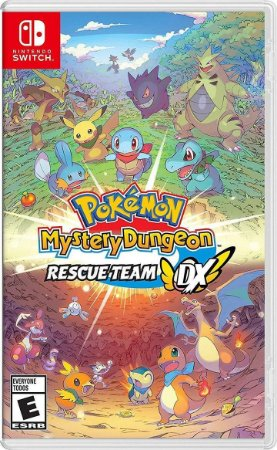 Pokémon Mystery Dungeon: Rescue Team DX Nintendo Switch (Pré-Venda)