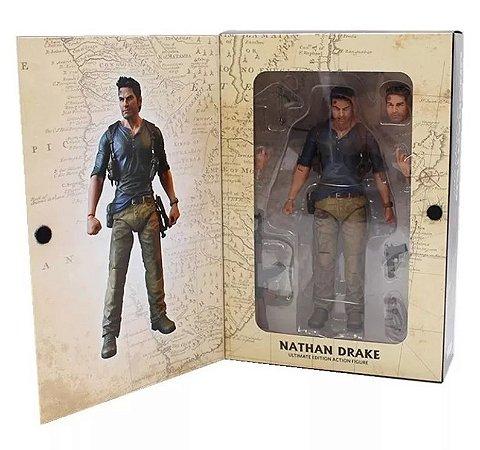 Boneco Nathan Drake Articulado Neca
