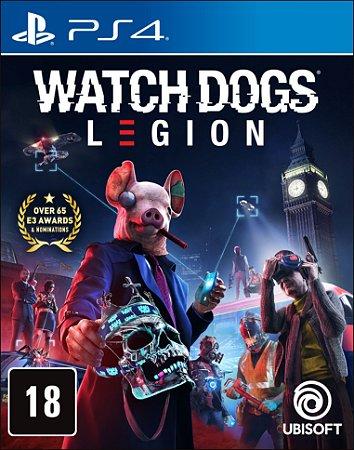 Watch Dogs Legion Edição Limitada PS4