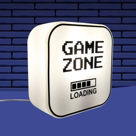 Luminária Abajur de Mesa e Parede - Modelo Game Zone