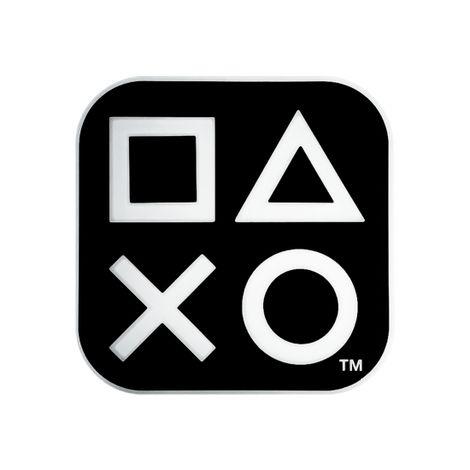 Luminária Abajur Box PlayStation Preta