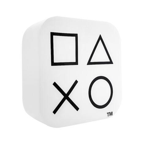 Luminária Abajur Box PlayStation Branca