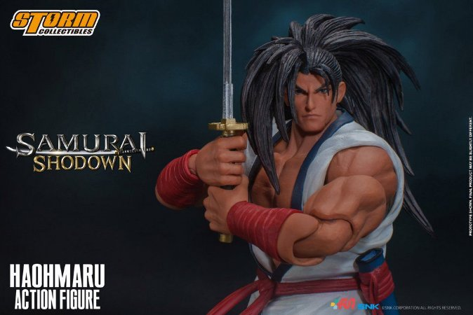 Haohmaru Action Figure Samurai Shodown Storm Collectibles