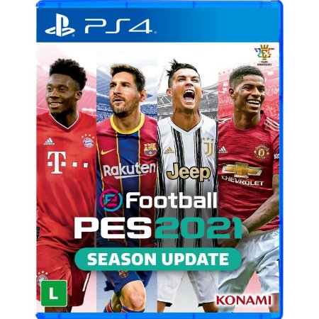Pro Evolution Soccer eFootball PES 2021 PS4