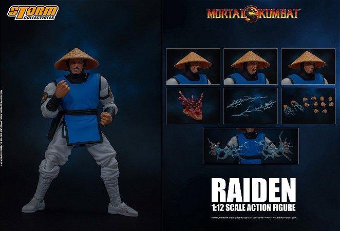 Raiden Mortal Kombat Storm Collectibles
