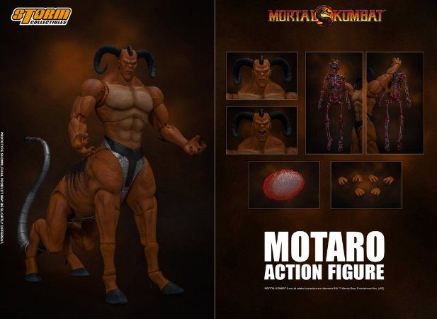 Motaro Action Figure Mortal Kombat Storm Collectibles