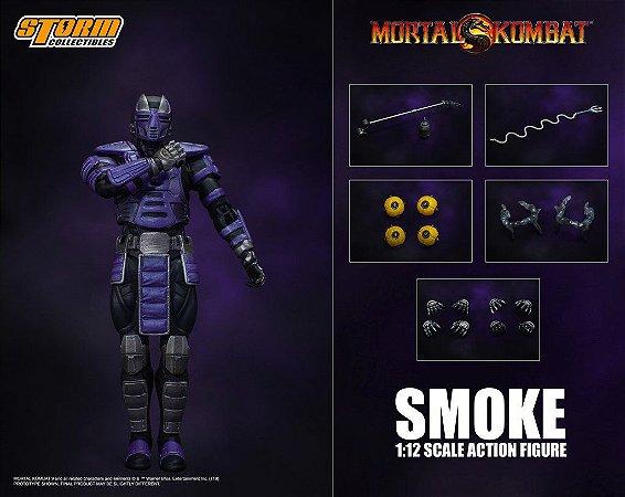 Smoke Action Figure Mortal Kombat Storm Collectibles