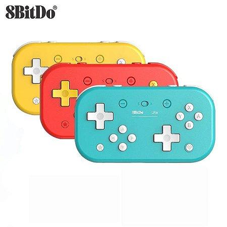 Controle 8Bitdo Sem Fio Bluetooth Lite