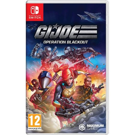 G.I. Joe Operation Blackout Nintendo Switch (EUR)