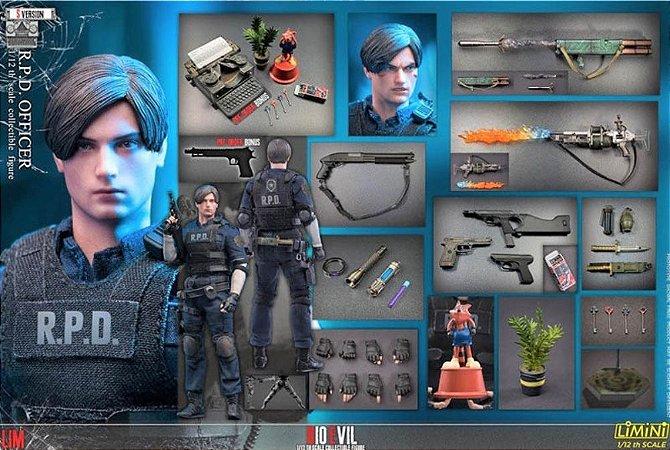 Leon R.P.D. Officer S Version Resident Evil Action Figure Limini Toys