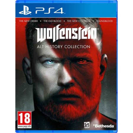 Wolfeinstein: Alt History Collection PS4 (EUR)