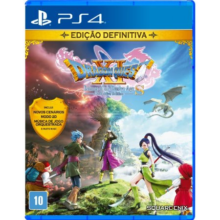 Dragon Quest XI S: Echoes of an Elusive Age Definitive Edition PS4