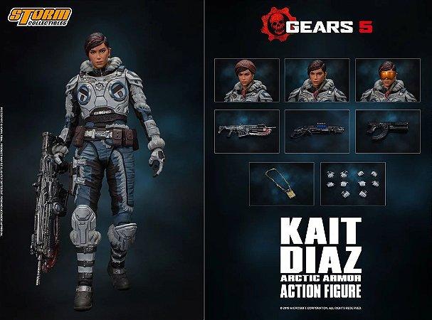 Kait Diaz Action Figure Arctic Armor Gears 5 Storm Collectibles
