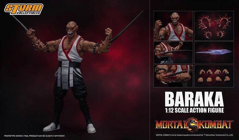 Baraka Action Figure Mortal Kombat Storm Collectibles