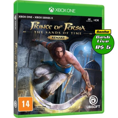 Prince of Persia The Sands of Time Remake Xbox