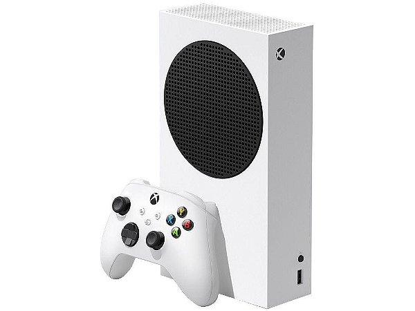 Xbox Series S Nova Geração 512GB SSD Com 1 Controle Branco Microsoft