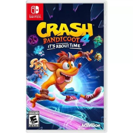 Crash Bandicoot 4: It's About Time Nintendo Switch (US)