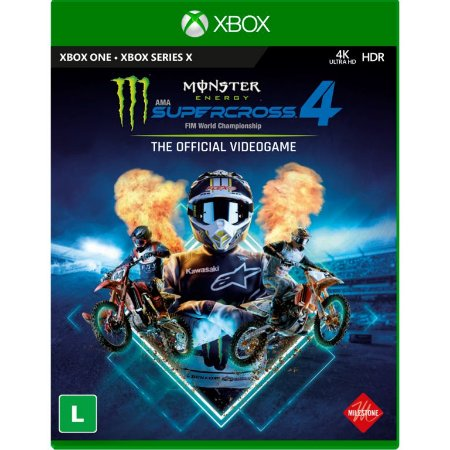 Monster Energy Supercross 4 Xbox