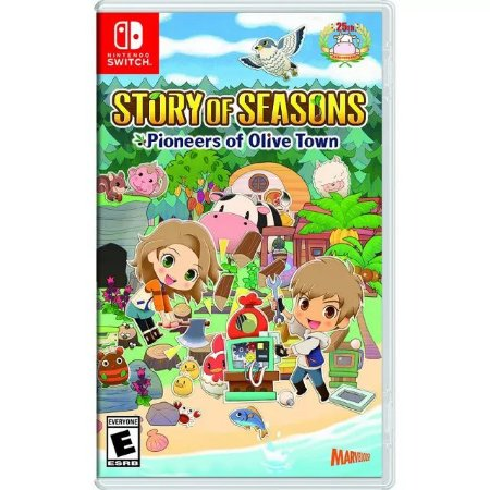 Story of Seasons: Pioneers of Olive Town Nintendo Switch (US)