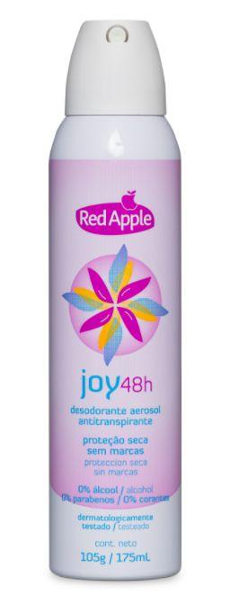 Desodorante aerosol feminino Red Apple Joy - 175ml