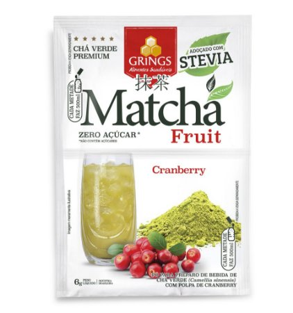 Matchá Fruit Grings Cranberry - 6g