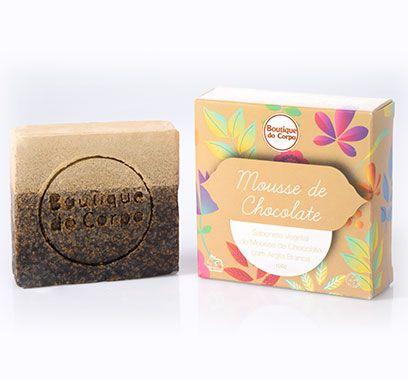 Sabonete Boutique do Corpo Mousse de Chocolate - 100g