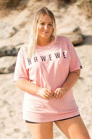 Camiseta Hawewe Estonada Rosa