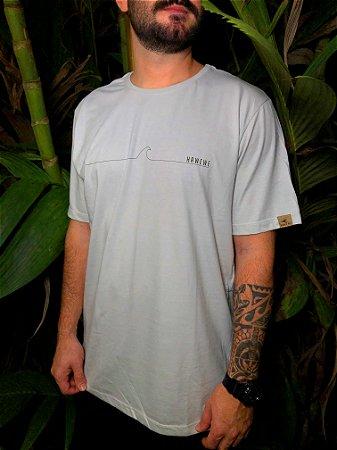 Camiseta Hawewe Masculina Water Wave Cinza