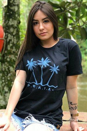 Camiseta Hawewe Praia Azul