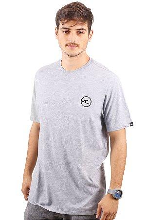 Camiseta Hawewe Logo Mescla Cinza