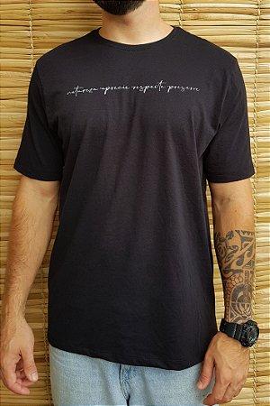 Camiseta Hawewe Natureza Preta
