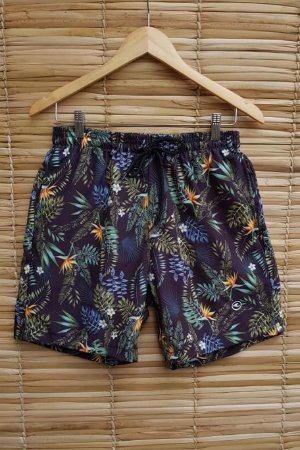 Shorts Masculino Hawewe Tropical