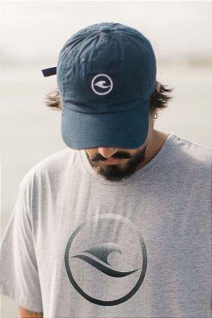 Boné Hawewe Dad Hat Logo Azul Marinho