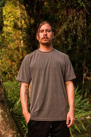 Camiseta Hawewe Logo Estonada Cinza