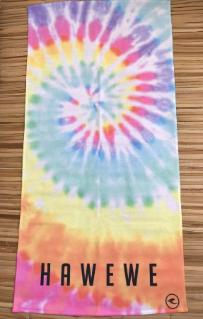 Toalha De Praia Hawewe Tie Dye